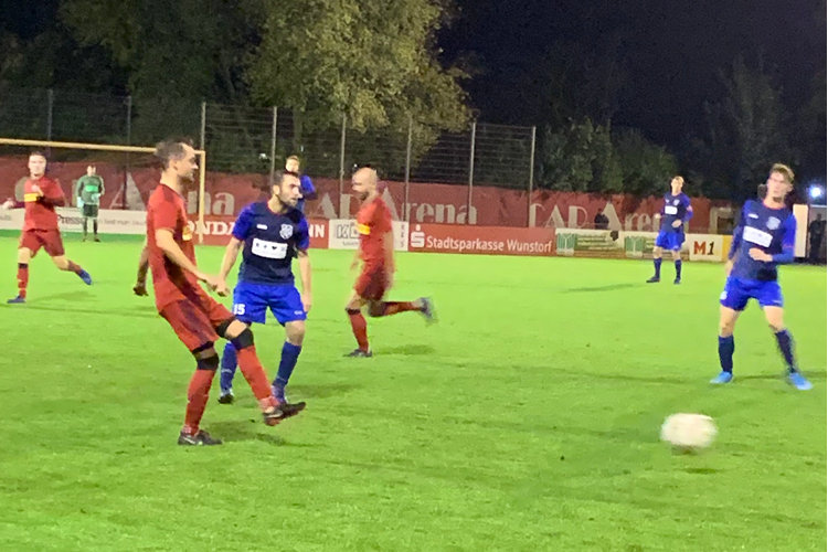 Partie gegen den TSV Krähenwinkel/Kaltenweide