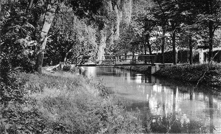 Brücke über die Mühlenaue