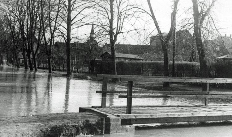 Hochwasser im Bürgerpark