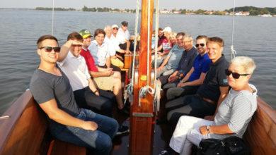 Bild von Steinhuder CDU traf sich zur traditionellen Bootsfahrt