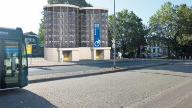 Bild von Vollautomatisches Fahrradparkhaus für Wunstorf geplant