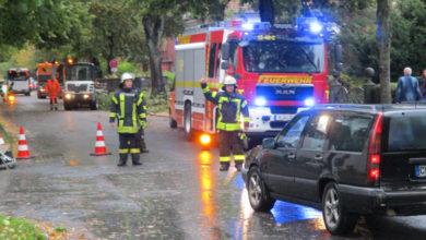 Bild von Wunstorfer Feuerwehr im Sturmeinsatz