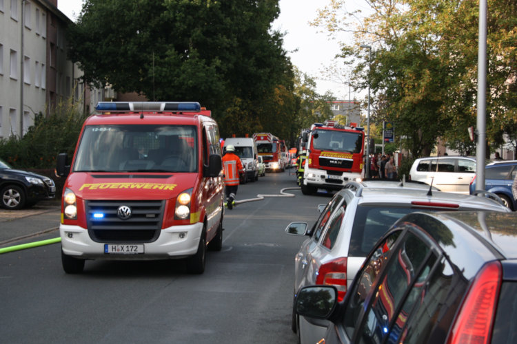 Küchenbrand Barnestraße