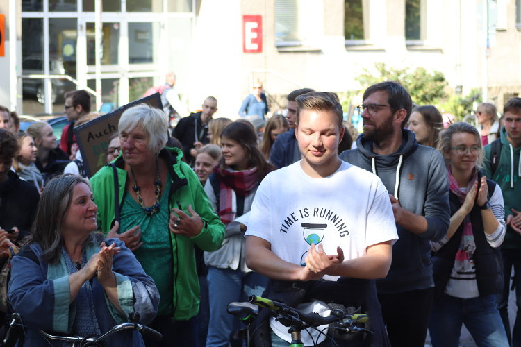 Klimademonstration am 20.09.2010
