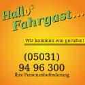Hallo Fahrgast