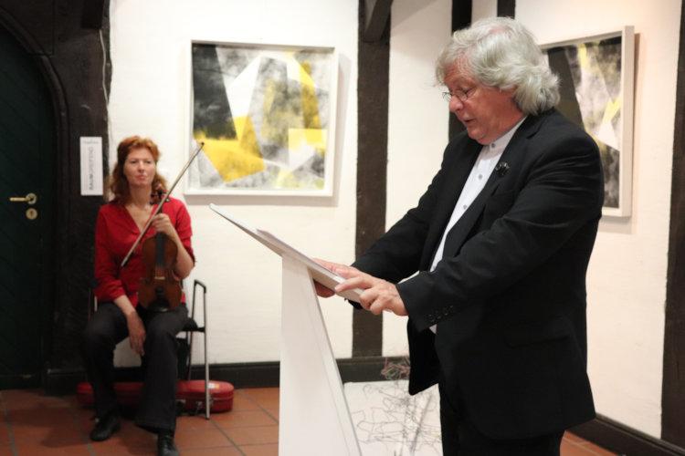 Ingolf Heinemann hält die Einführung