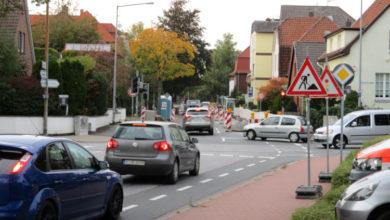 Bild von Verkehrschaos in der Südstadt