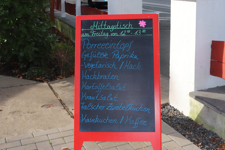 Mittagstisch Tafel Wunstorf