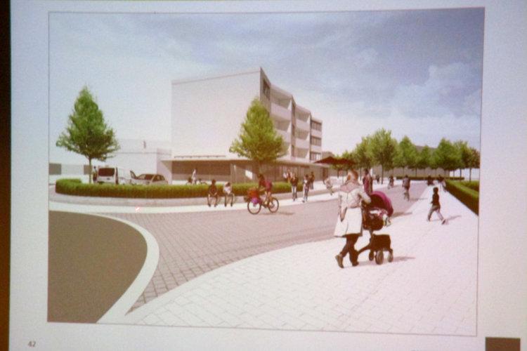 So stellen sich die Architekten den künftigen Barneplatz vor