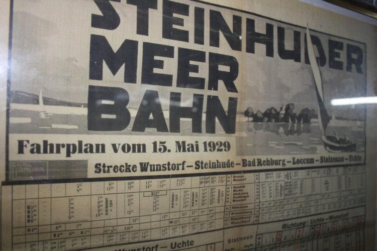 Historischer Fahrplan