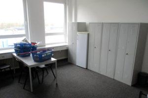 Zimmer im Flüchtlingheim