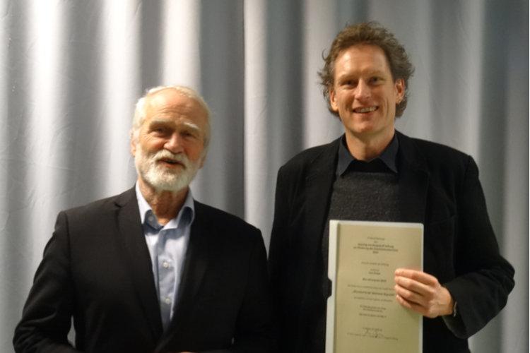 Auszeichnung Lars Kreye