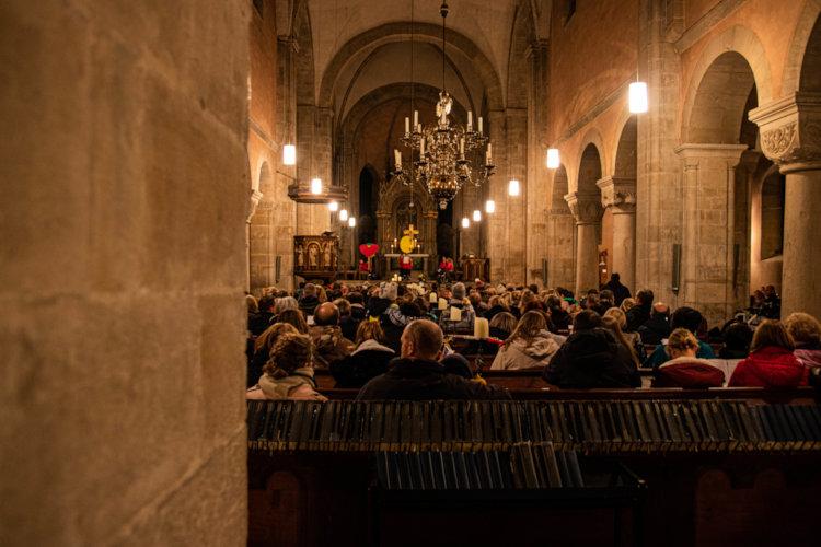 Johanniter Laternenumzug Stiftskirche