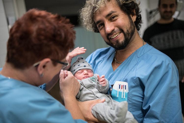 Geburt in der Notaufnahme