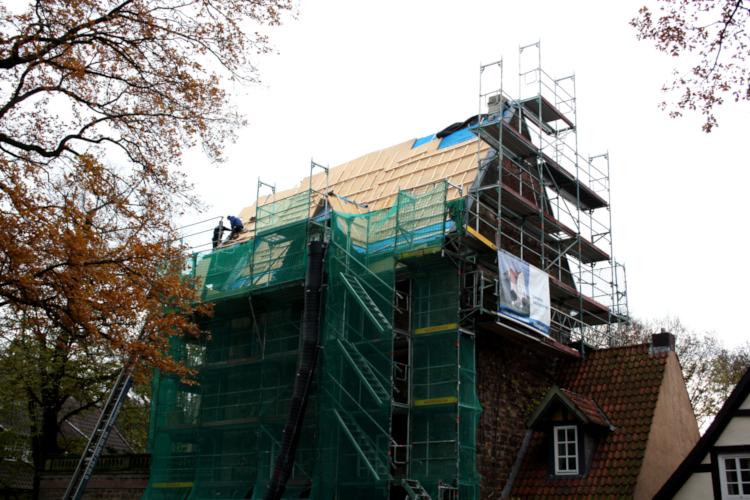 Röbbigsturm-Dachsanierung