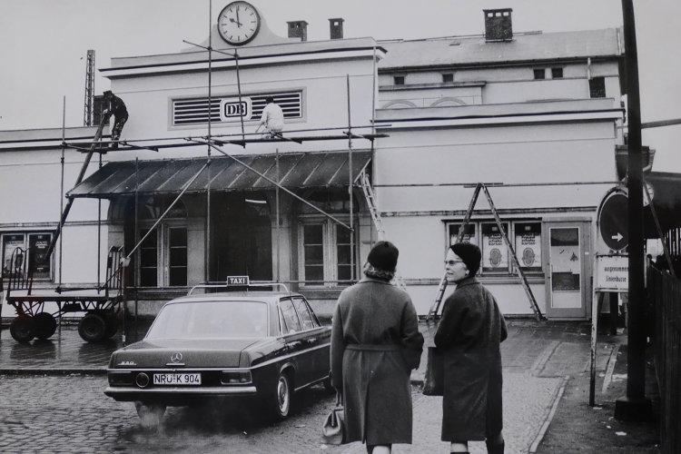 Wunstorfer Bahnhof 70er Jahre