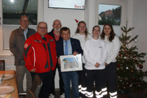 Bürgermeister-Weihnachtsrunde Johanniter