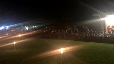 Bild von 400 Weihnachtssänger in der Barne-Arena