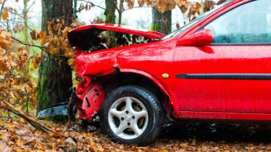 Bild von Schwerer Unfall auf dem Weg zur Autobahn