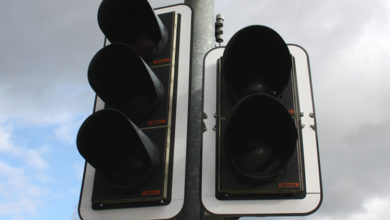 Bild von Ampeln nach Stromausfall lahmgelegt