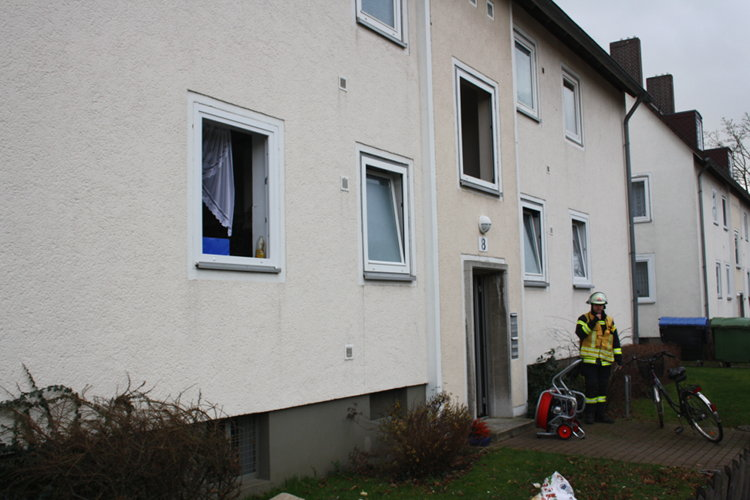 Feuerwehreinsatz Saarstraße