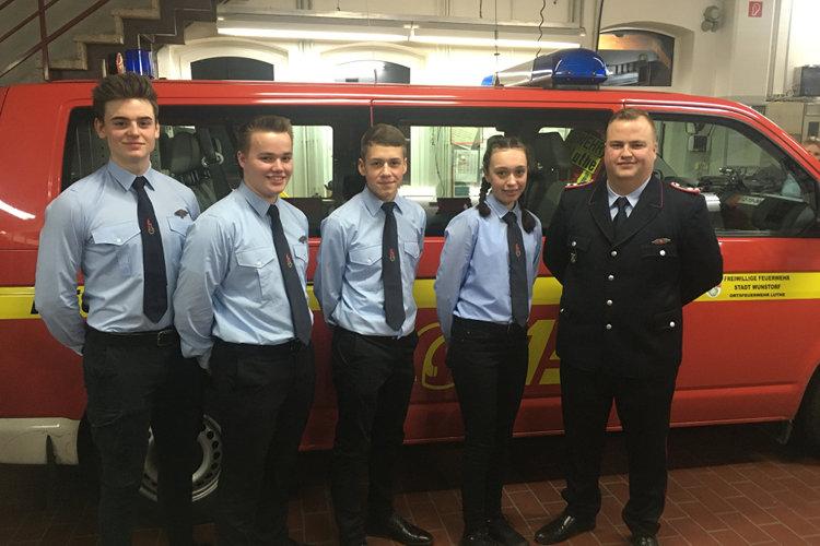 Jugendkommando der Feuerwehr Luthe