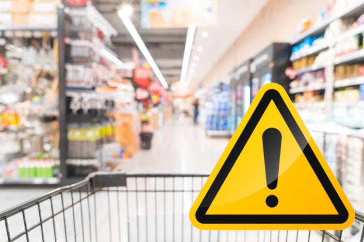 Produktwarnung