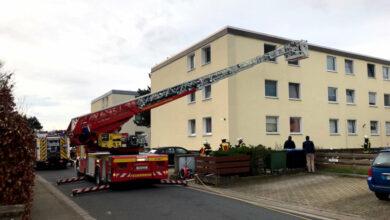 Bild von Feuerwehr rettet Eingeschlafenen aus verqualmter Wohnung