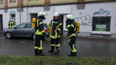 Bild von Feuerwehr zu Gasalarm gerufen