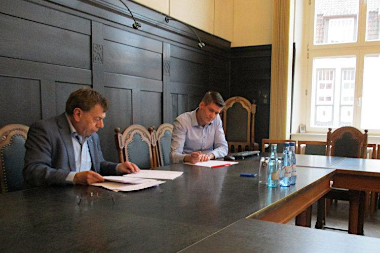 Pressetermin Rathaus