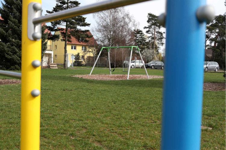Wohnheim-Spielplatz