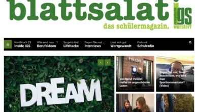 Bild von Evangelische IGS Wunstorf präsentiert ihr erstes Schülermagazin
