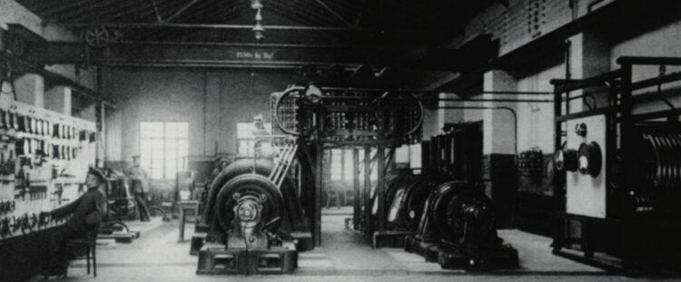 Maschinenhalle Funkenturm Eilvese