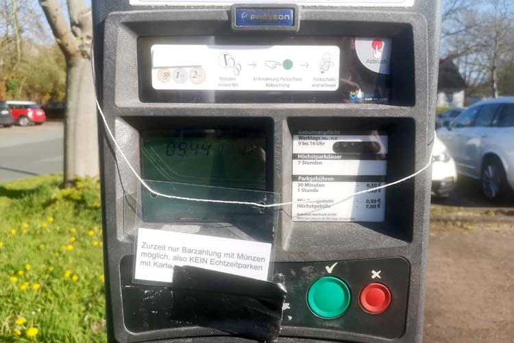 Neue Parkgebühren in Wunstorf