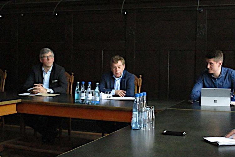 Pressekonferenz Rathaus