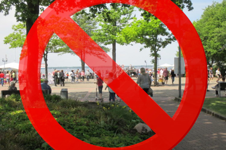 Steinuhder Meer verboten