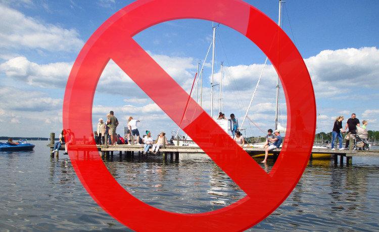 Steinhuder Meer verboten