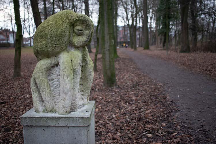 Skulptur im Bürgerpark