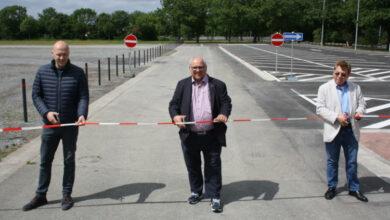 Bild von Neuer Parkplatz In den Ellern eingeweiht
