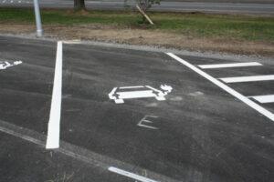 Parkbucht für E-Autos
