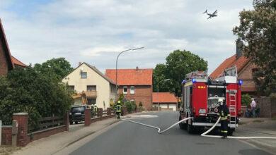 Bild von Feuerwehr dämmt Gasaustritt ein