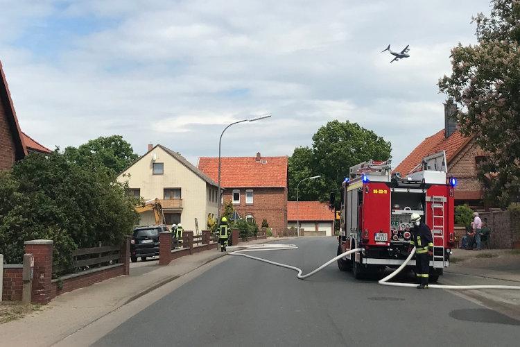 Einsatz in Hagenburg