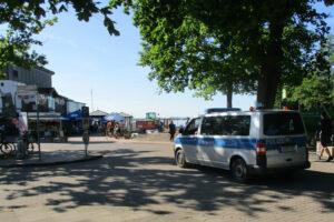 Polizei in Steinhude