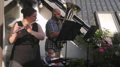 Bild von Balkonmusik während der Krisenzeit