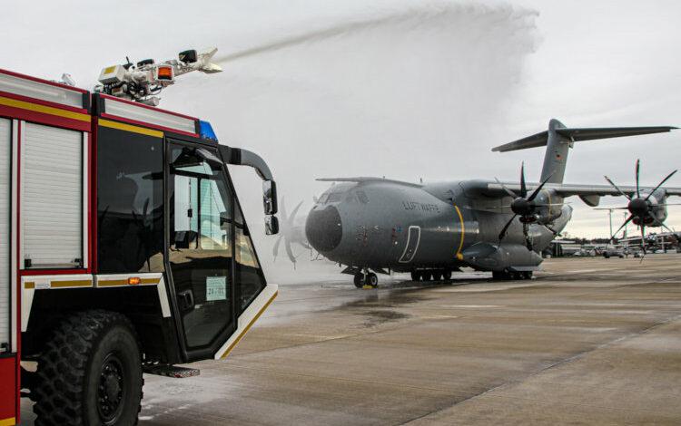Bild von Wenn der A400M brennt