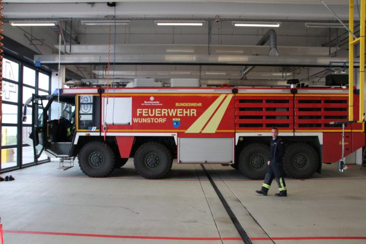 Feuerlöschfahrzeug Bundeswehrfeuerwehr