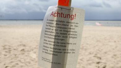 Bild von Warnung vor Phosphorkontakt am Steinhuder Meer