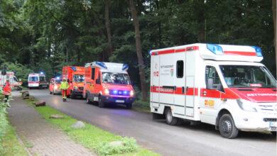 Bild von Rettungskräfte finden leblosen Bewohner