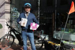 Fahrradlieferung Weber