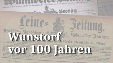 Bild von Wunstorfer stehlen in Frielingen (27. November 1920)